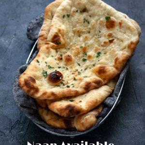 Garlic Batter Naan
