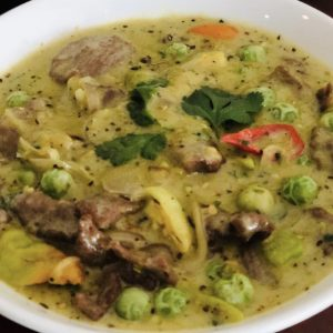 Thai Green Curry Beef