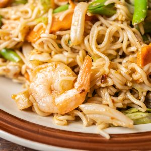 Seafood Mix Noodles
